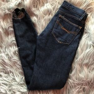 GAP skinnies with stirrups